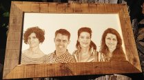Photoengraving in wood